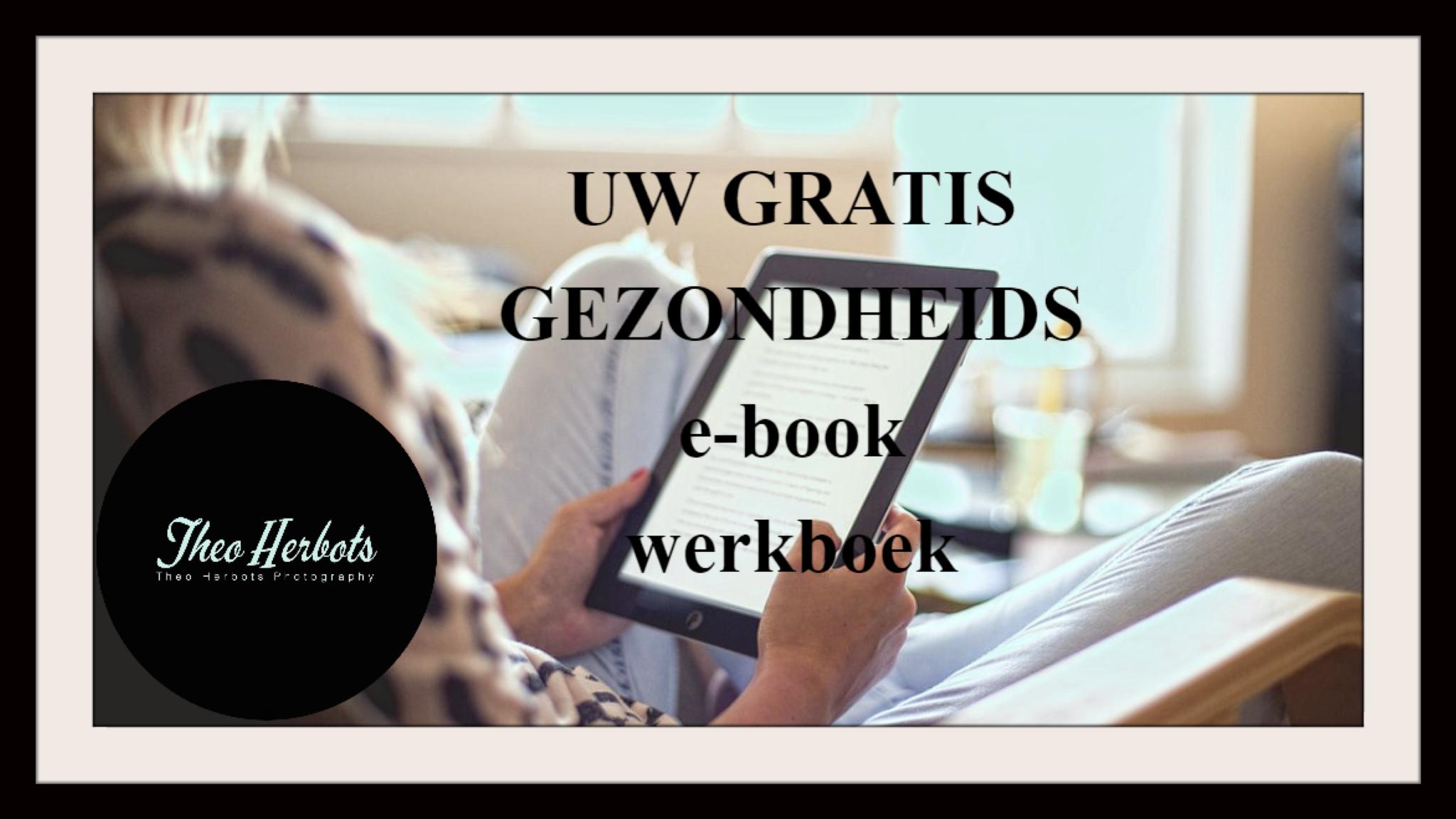 """Uw """"GRATIS"""" Gezondheids-e-book"""