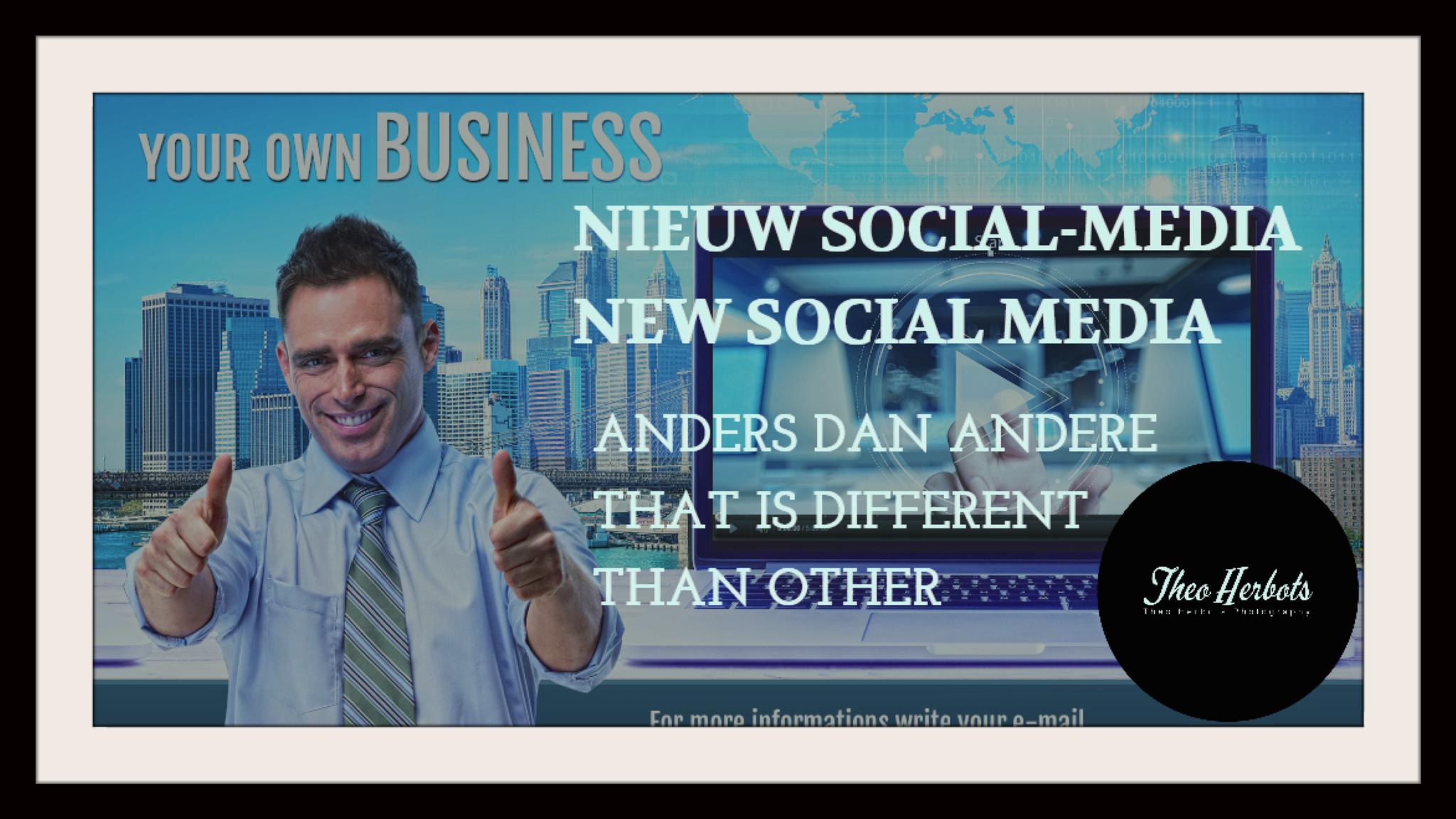 "FUTURENET-HET SOCIAL-MEDIA DAT ""ANDERS"" IS DAN ""ANDERE"""