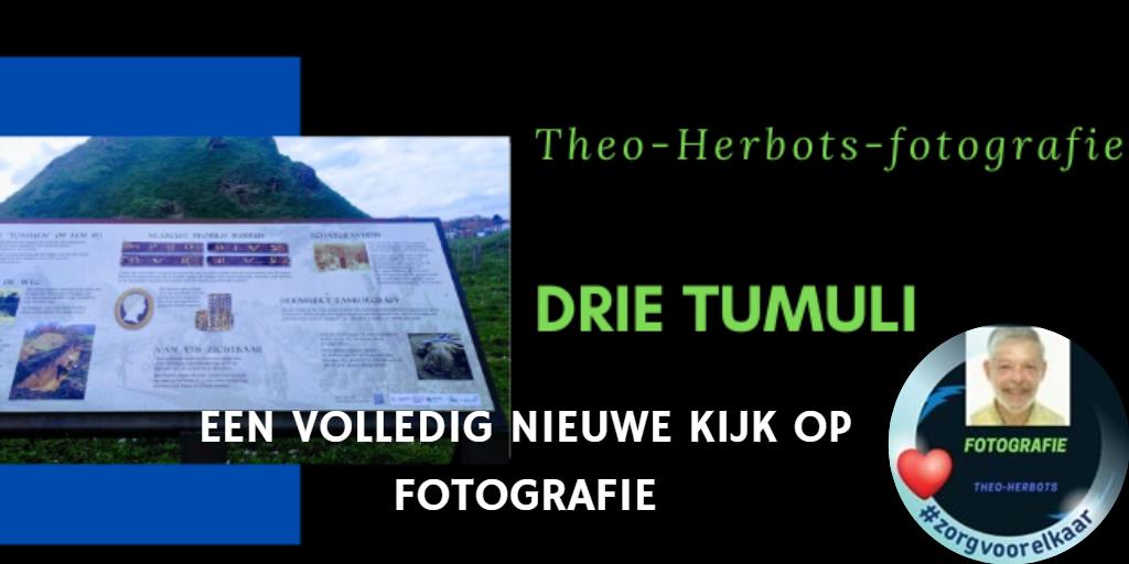 de drie Tumuli in Tienen